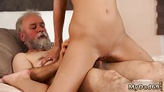 Old grandfather sex Surprise your girlpal and she will