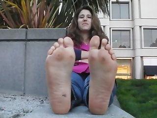 Wet hot bikini - Wet hot stinky 10 wide soles afterwork