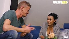 XXX OMAS - Bonny Devil Takes Dick From Her Neighbor At Home