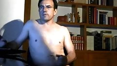 not daddy loves to stroke his cock watching porn