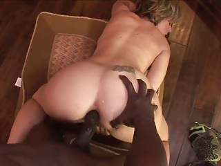 Dig cocks in asian Wite and black bin dig