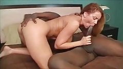 Janet Mason cums a lot on hung black bull