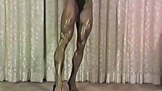 Joanne McCartney - black bikini, indoor