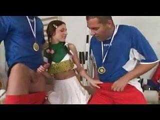 Sexy cheerleaders gallery Mry - sexy teen cheerleader takes dp