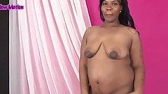 Ebony pregnant
