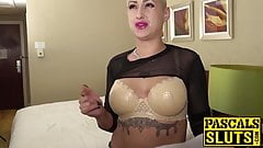 Cute blonde Lolly Glams has rough sex with Pascal White here