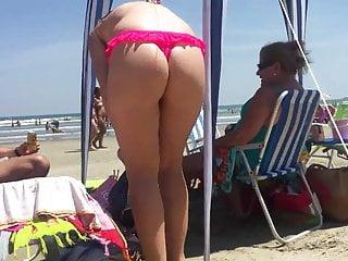 Show de bikini - De bikini cor de rosa