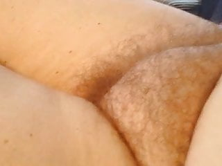 Sex on bed naked Wife laying on the bed naked, hairy pussy,belly,nipple