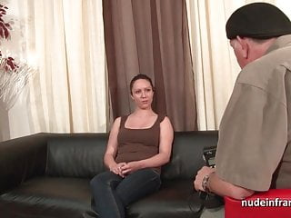 Vintage hammered aluminum - Chubby brunette ass hammered and facial for her amat casting