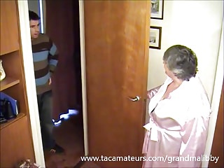 Grandma fucks young stud 80 year old grandmalibby fucks young stud