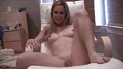 Blonde amatuer wife striptease 2