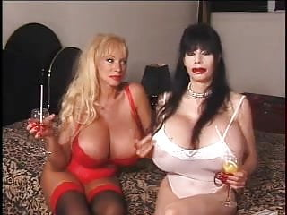 Breast free silicone - Two silicone monters