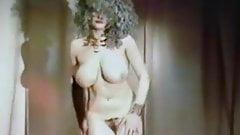 REBEL YELL - vintage big boobs dance tease