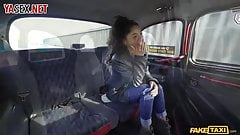 Anal sex in the car