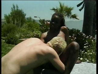Head job or blow job Ebony whore head job and pussy fucking