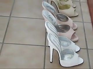 Affordable sexy high heel shoes Sexy white stiletto shoes
