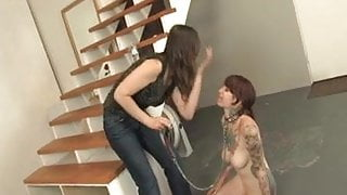 Foot Domination with Mistress Claire, Angela, and Ava Pearl