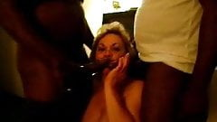 wife enjoying black cock