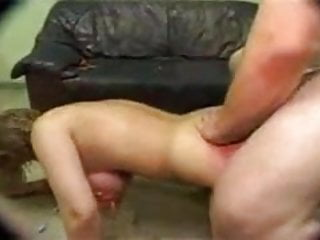 Torture fishhook through tits - Slave humiliated, gets gangbanged with bound tortured tits