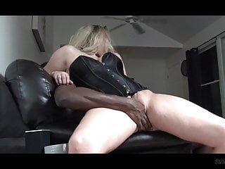 Lilly saint interracial Busty amateur milf lilly sharing a huge black dick with heat