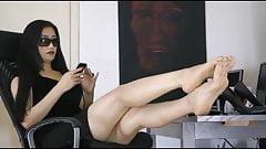 Asian Foot Goddess