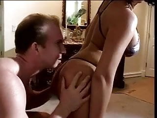 Tranny gets blow job Lucky guy gets a blow job from a hottie with a nice rack