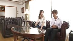Japanese wife cheating with Mom