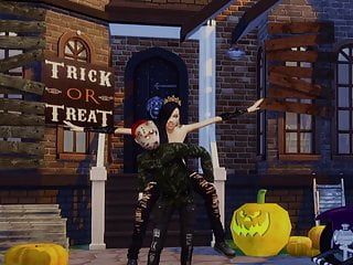 Free no download sims teen style Halloween visit jason 2 - sims cartoon