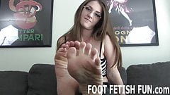 I will allow you to worship these perfect feet