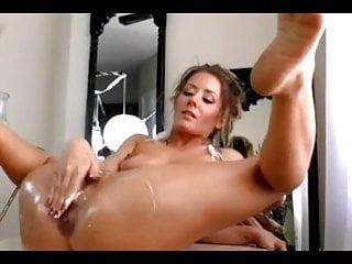 Dildo orgasms Sexy woman dildo orgasms