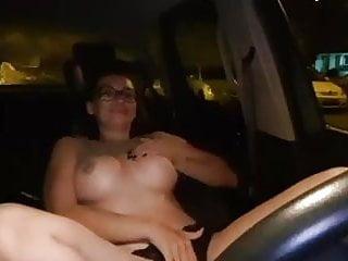 Russian thumb drive Driving bitch