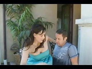 Fucking two neighbours - Teen fucks her neighbour