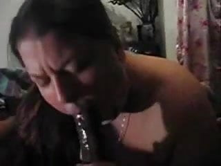 Wife love cock - White wife love suck the black dick