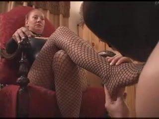 Secretary Footjob Porn Pics