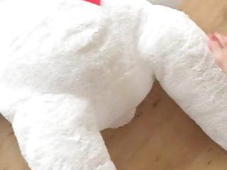 Amateur trample video Bare feet bear trample