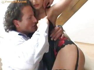 Slutload busty brunett mouth - Busty brunette has anal sex with her boyfriend
