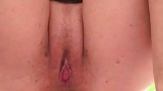 She Fucks Her Ass And Pussy Up Close
