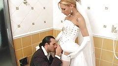 Shemale Bride Fucks Best Man Before Wedding