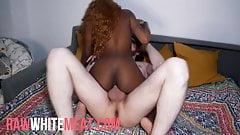 Petite ebony takes BWC deep