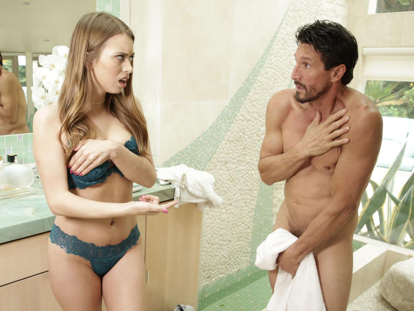 Dad Punishes Bad Daughter