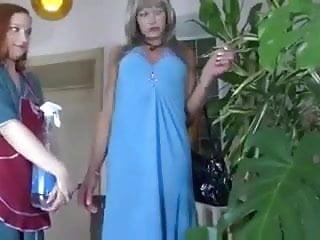 Crossdresser sex fids - Maid and crossdresser