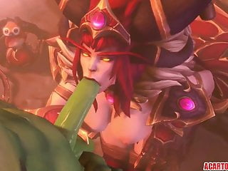 Queen alexstrasza nude Big tits alexstrasza gets fucked hard by big dick