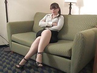Bondage in secretary - Cooperative secretary