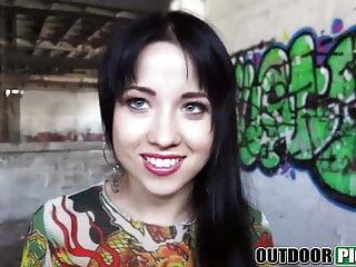 Busty shanti Hot brunette russian teen taissia shanti fucking for money