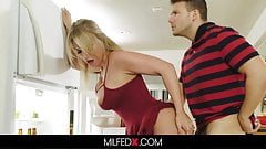 Milf Fucks Her Stepson With Husband In The Room