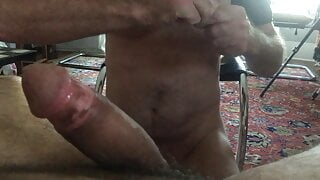 Young Latin Dick Cums Fast and Jerks Grandpa