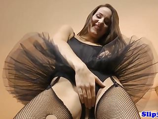 Adult tutu red - Tutu wearing brit babe pussyfucking oldman