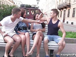 Fucking young european girls - Young sex parties - making selfies and fucking