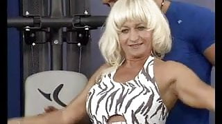 my sporty step mom