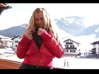 Teen first time nudist Her first time on skis